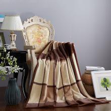 【恒源祥家紡】 親膚柔軟毛毯 法蘭絨毯子 毛毯 雙人毯子 保暖舒適毯子 舒適毛毯 絨毯 時尚大咖絨毯