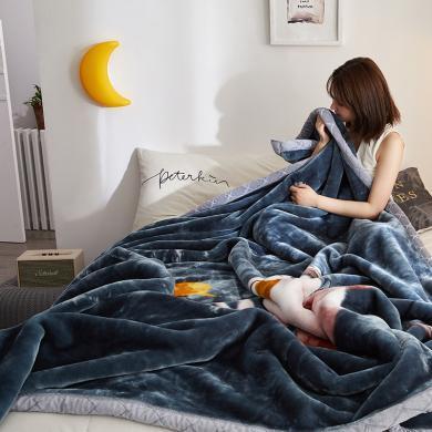 DREAM HOME 秋冬保暖毛毯 拉舍尔毛毯 秋冬毛毯盖毯 770456-2