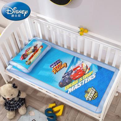 迪士尼家紡    幼兒園席子兒童午睡涼席冰絲席嬰兒床冰絲夏季透氣寶寶涼席空調席軟席