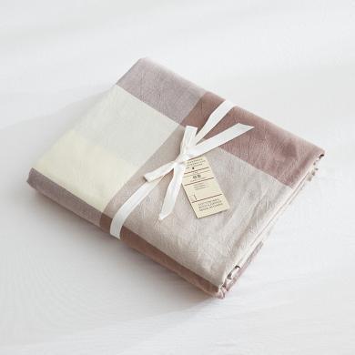 KIKIHOME 簡約風被罩 北歐水洗棉貼身被套 宿舍民宿被套純棉裸睡床品單件