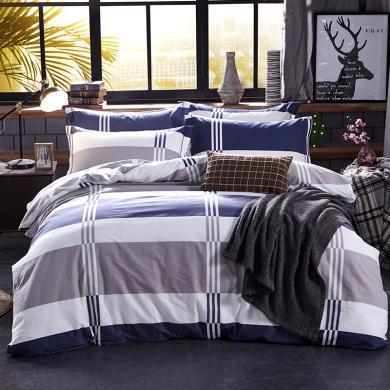 品卧家纺 磨毛印花单被套床上用品 1.2米1.5米1.8米2米床可用01