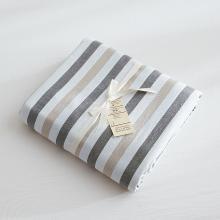DREAM HOME 床品單件全棉被套水洗棉被套單人被罩雙人被套單件條紋118523-4