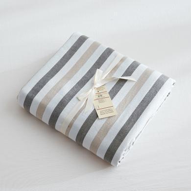 DREAM HOME 床品单件全棉被套水洗棉被套单人被罩双人被套单件条纹118523-4