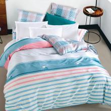 帝豪家纺 全棉被套单件柔丝锻被罩1.5米1.8m床纯棉双人200x230被套