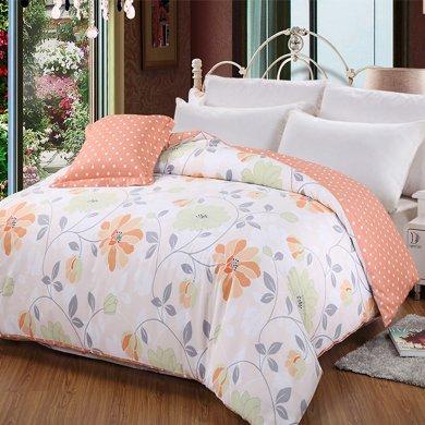 帝豪家紡 全棉單件被套純棉1.5米床1.8米床被罩花式單雙人被套