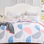 帝豪家纺 纯棉被套单件单人被罩夏学生1.5米1.8米双人床上用品