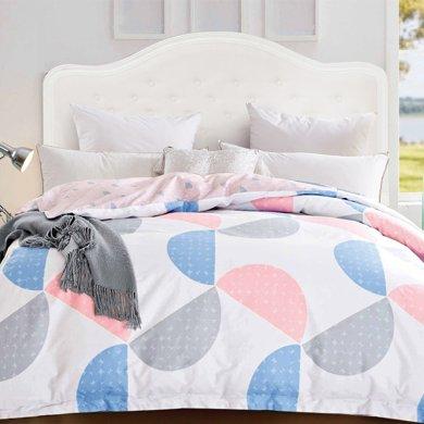 帝豪家紡 純棉被套單件單人被罩夏學生1.5米1.8米雙人床上用品