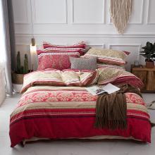 DREAM HOME 床品单件全棉加厚磨毛单件良品风单被套单双?#25628;?#29983;纯棉被套565282-1