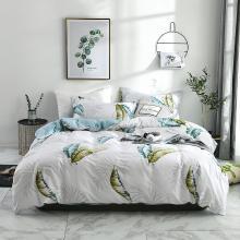 DREAM HOME 床品单件全棉简欧单被套单双?#25628;?#29983;印花纯棉被套417215-3