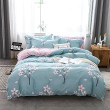 DREAM HOME 床品单件全棉简欧单被套单双?#25628;?#29983;印花纯棉被套417215-4