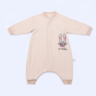 零听婴幼儿分腿式防踢被儿童春秋彩棉睡袋