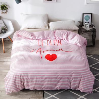 VIPLIFE家紡 單件被套 精梳全棉高支高密被套床上用品