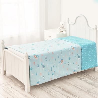 水星寶貝新生兒用品純棉兒童被套嬰兒幼兒園寶寶小被罩可水洗被套