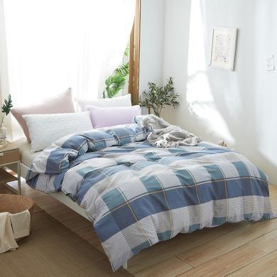 恒源祥家纺 全棉风雅被套 床品单件被套 200*230cm