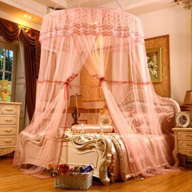 VIPLIFE雙層吸盤公主蚊帳宮廷吊掛圓頂床幔式蚊帳