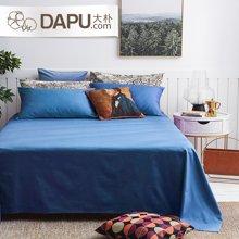 大朴240根纯色缎纹床单A类无甲醛单人双人床单多色可选