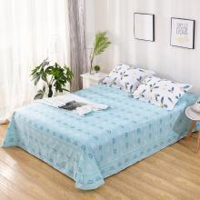 品卧家纺 全棉斜纹半活性印花纯棉床单床上用品 多规格尺寸可选