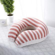 【恒源祥家紡】 彩棉立體U型 飽滿高彈抗壓抱枕 舒適回彈抱枕  舒頸枕 記憶枕