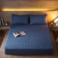 DREAM HOME 床品单件纯色水洗纯色斜纹夹棉单品床笠519236-1