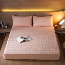 DREAM HOME 床品单件纯色水洗纯色斜纹夹棉单品床笠519236-2