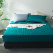 DREAM HOME 床品单件纯色全棉半包夹棉床笠加厚床单保暖床垫499674-1