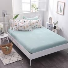 羽芯家纺 全棉纯棉印花单品床笠+枕套一对