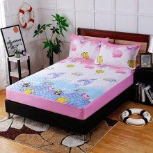 羽芯家纺 优质磨毛夹棉床笠印花款