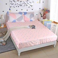 帝豪家纺 单件床笠    纯棉防滑床单     床垫套 床罩     席梦思保护套1.8m床