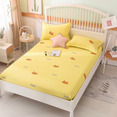 羽芯家紡 新款全棉單品床笠+枕套一對