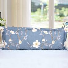 帝豪家纺 双人枕头套1.2米纯棉双人枕套1.5米全棉加长枕套长款