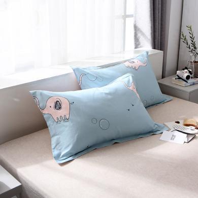 羽芯家紡   2019新品全棉枕套 單品枕套一對
