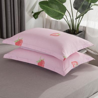 VIPLIFE精梳全棉信封寬邊枕套【2個裝】