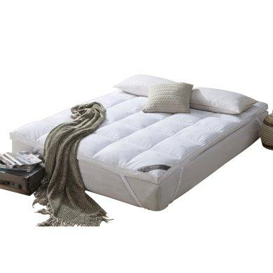 博洋家紡防鉆絨面料羽絨床墊床褥-洛羽毛床墊