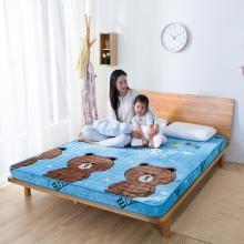 羽芯家纺 宝宝绒加厚保暖立体床垫(6厘米厚度)