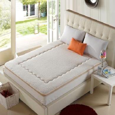 羽芯家纺 羊羔绒床垫