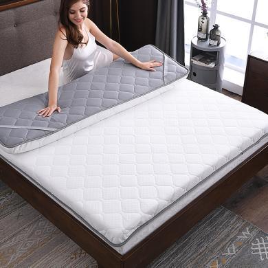 羽芯家纺 针织透气双面加厚榻榻米床垫防滑床褥子1.5m1.8米双人垫子
