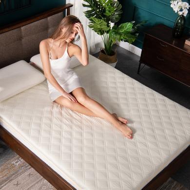 羽芯家紡 全棉抗菌床墊防滑床褥子加厚榻榻米墊被1.5m1.8米雙人墊子