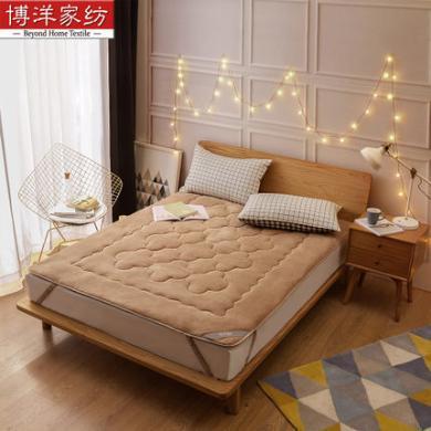 博洋家紡珊瑚絨保暖床褥/床墊-綁帶款、床笠款