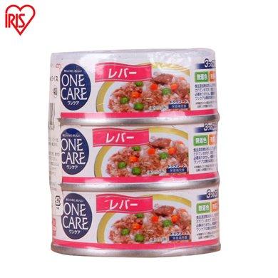爱丽思零食罐头鸡肝味三连罐100g*3 宠物湿粮 狗狗补钙训练用品