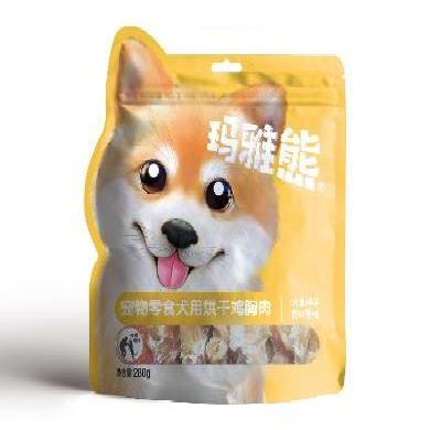 玛雅熊 宠物狗零食 肉类零食 烘干鸡胸肉  280g