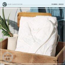 纯棉加厚和服领浴袍