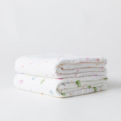 六層水洗紗布童被/浴巾A+生活