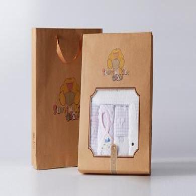 孚日sunvim專柜正品 小兔子乖乖嬰幼兒浴巾五件套禮盒裝