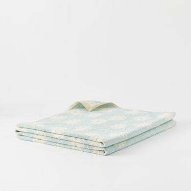 純棉 花開靜好毛巾被