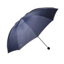 天堂伞高密拒水碰击布三折晴雨伞3311E碰