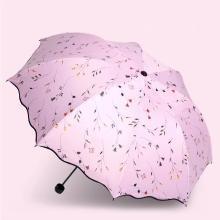 漂亮防紫外线太阳伞防晒遮阳伞女雨伞折叠小清新晴雨?#25509;?>                             </a>                         </div>                     <div class=
