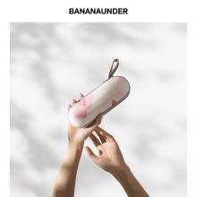 BANANA UNDER蕉下口袋系列粉翠超轻小防晒伞太阳伞遮阳晴雨两用伞5折叠女