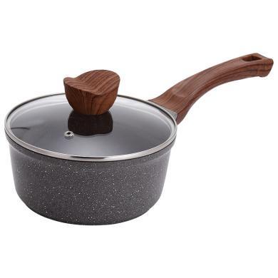 美廚(MAXCOOK) 麥飯石色奶鍋不粘鍋泡面鍋煮奶鍋嬰兒輔食鍋電磁爐明火通用 MCN551