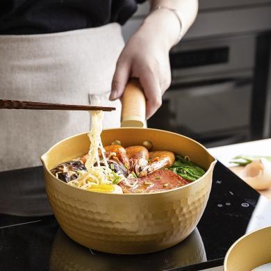 摩登主婦日式雪平鍋嬰兒寶寶輔食鍋泡面鍋奶鍋煮鍋湯鍋燃氣電磁爐