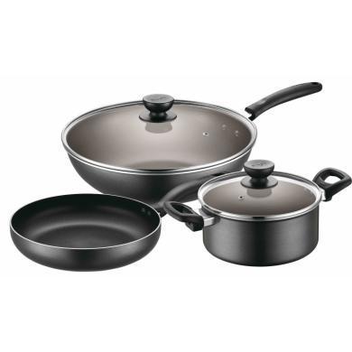 蘇泊爾套裝鍋具TP1617K 不粘炒鍋三件套 32CM炒鍋+26CM煎鍋+20CM湯鍋